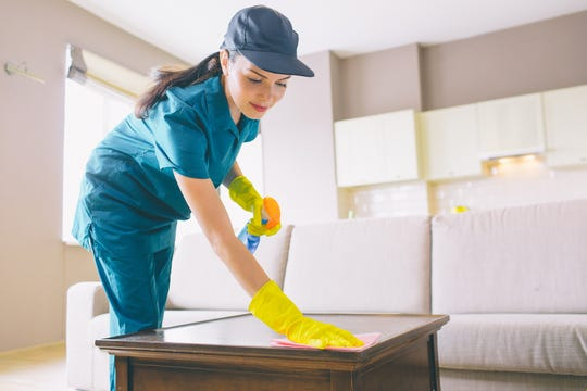 Hiring a professional housecleaner can take a lot of stress out of your spring cleaning plans. (Dreamstime)