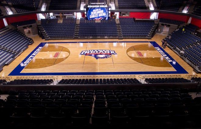 Screaming Eagles Arena at USI.