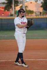 Estero pitcher Alex Salter is turning in another dominant season. In 35 2/3 innings, she's allowed just 10 hits with 6 walks and 82 strikeouts. Estero is 15-0 and ranked sixth in the nation by both USA Today and MaxPreps.