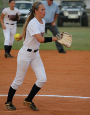 Junior Lauren Hobbs has teamed with Alex Salter to form one of the top pitching duos in the state. Hobbs is 9-0 with an 0.26 earned run average, and is also second on the team with a .409 batting average. Estero is 15-0 and ranked sixth in the nation by both USA Today and MaxPreps.