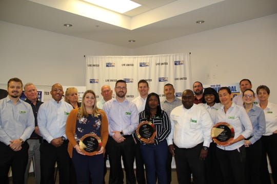 The Publix team helped the United Way of Lee, Hendry, Glades and Okeechobee exceeded its campaign goal