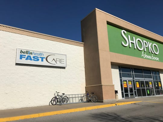 Bellin FastCare clinics are located in four Shopko stores in Brown County, including the Bay Park Square store in Ashwaubenon.