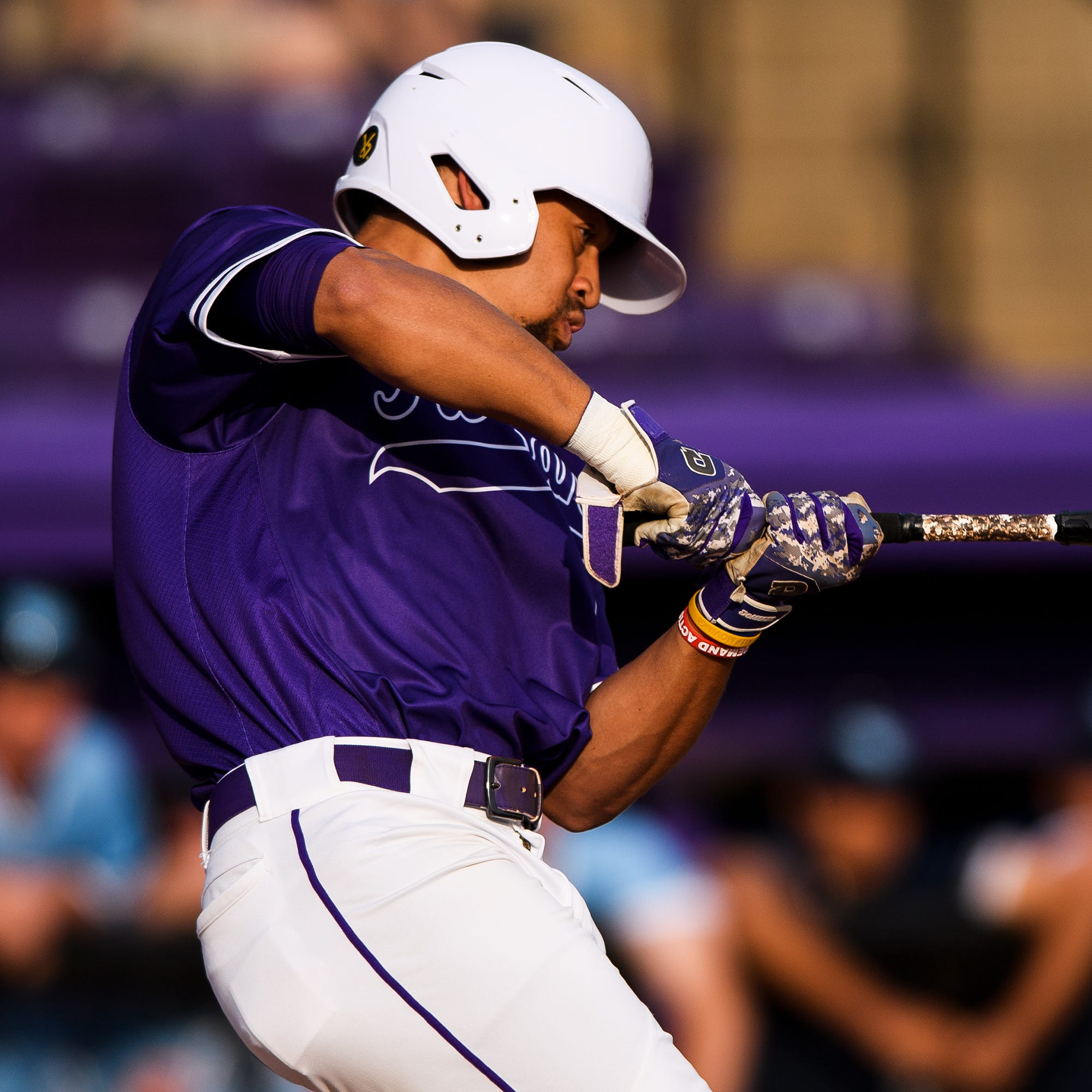 Furman's Jabari Richards bats for the cycle amid red-hot hitting streak
