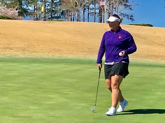 Clemson's Alice Hewson is preparing to play in the inaugural Augusta National Women's Amateur.
