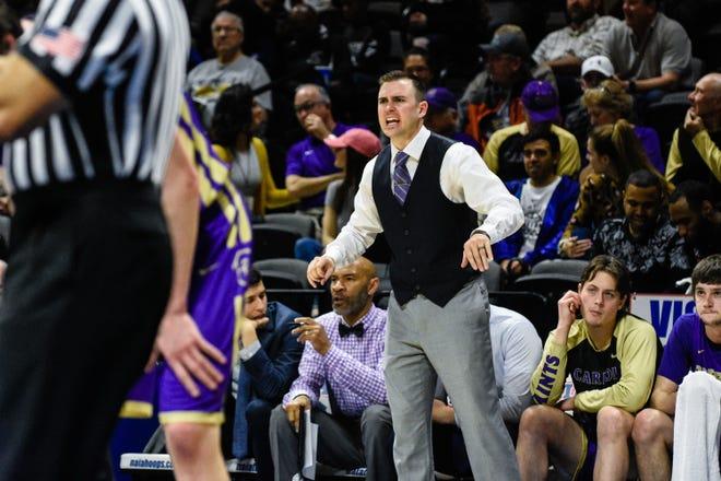 Carroll College head coach Kurt Paulson reacts during the NAIA national championship game last week in Kansas City, Mo.