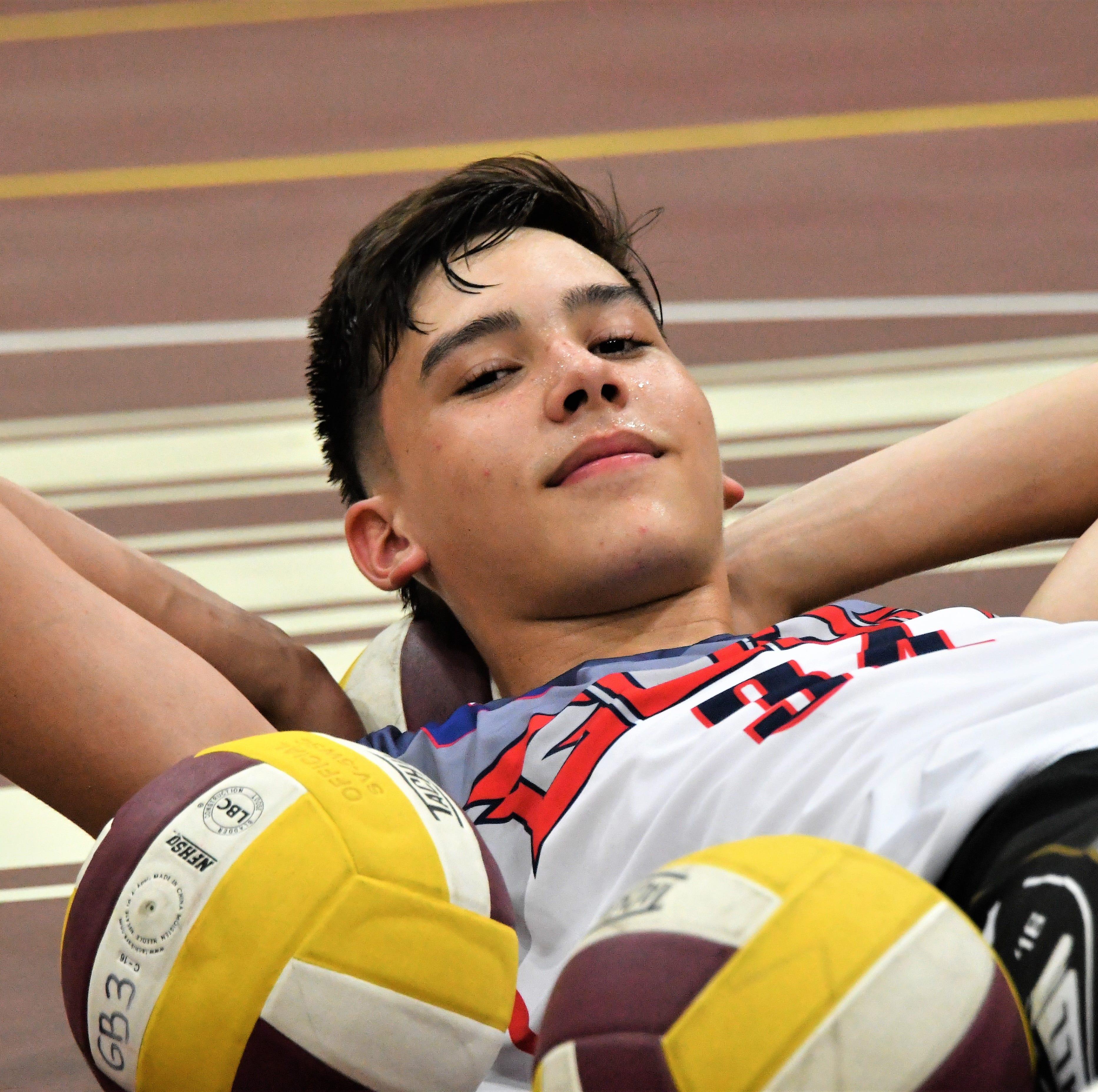 Q & A: Get to know Guam's tallest high school athlete, Matthew Fegurgur