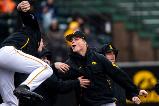 The Hawkeyes rallied with one run in the ninth Friday en route to a 3-2 series-opening win over Nebraska