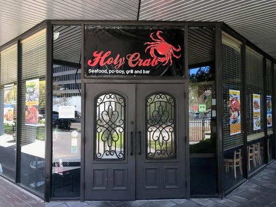 When word spread that Wasabi Sushi & Bar was closing its downtown location, local were eager to know why and what was going to replace the beloved sushi spot. Wasabi on officially closed on February 23 and Holy Crab made its debut on March 1.