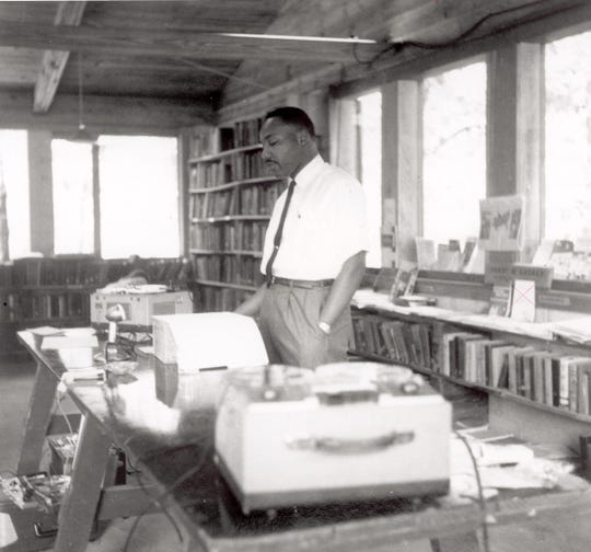 Martin Luther King at the Highlander Center.