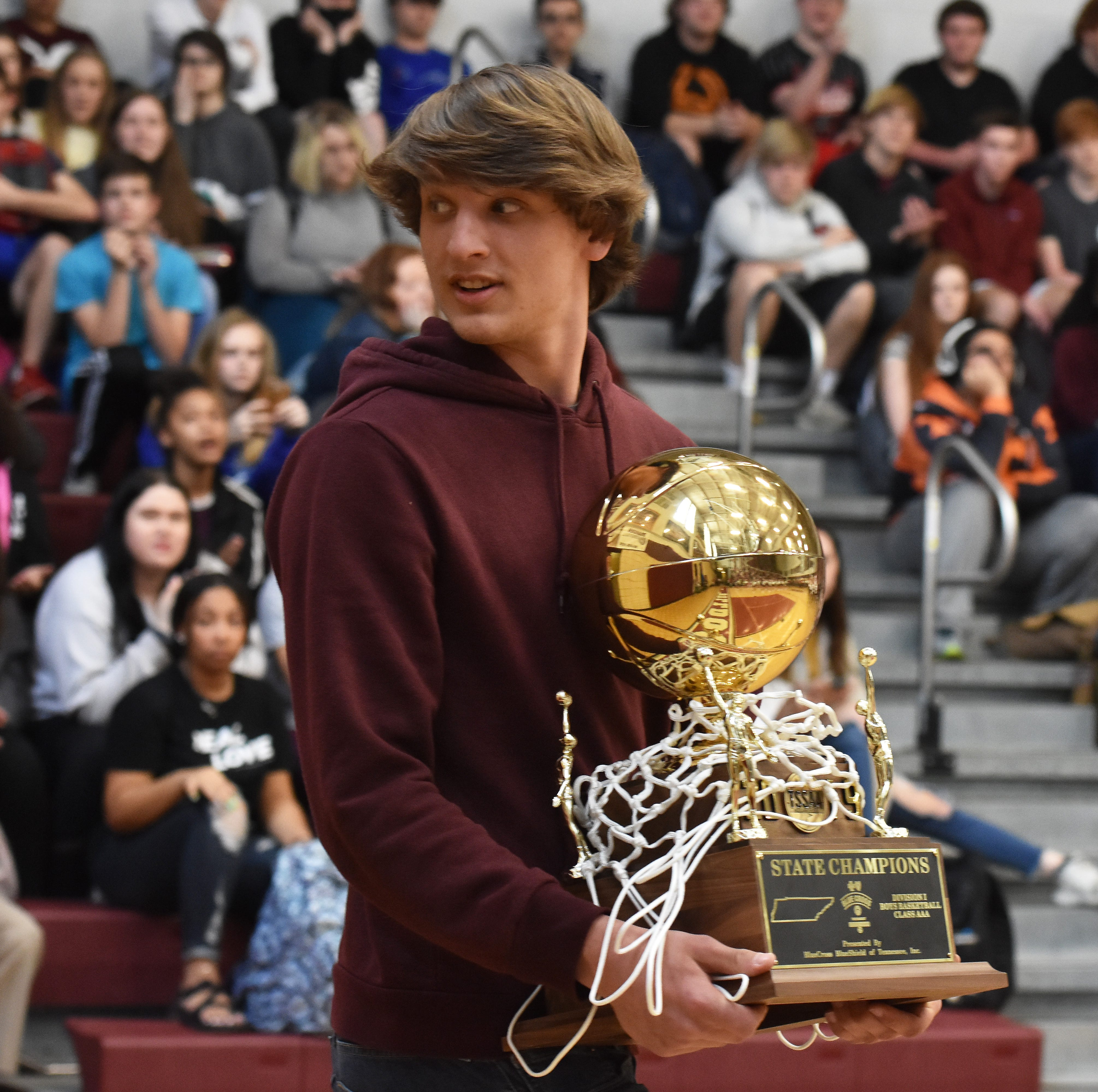 Students celebrate 'best Bearden team ever' after TSSAA basketball championship