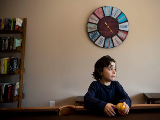 Harrison, a 6-year-old Tennessee boy who has autism, is photographed in his home in March. Tennessee lawmakers want to transform TennCare with funding from a a block grant, potentially changing coverage for children like Harrison.