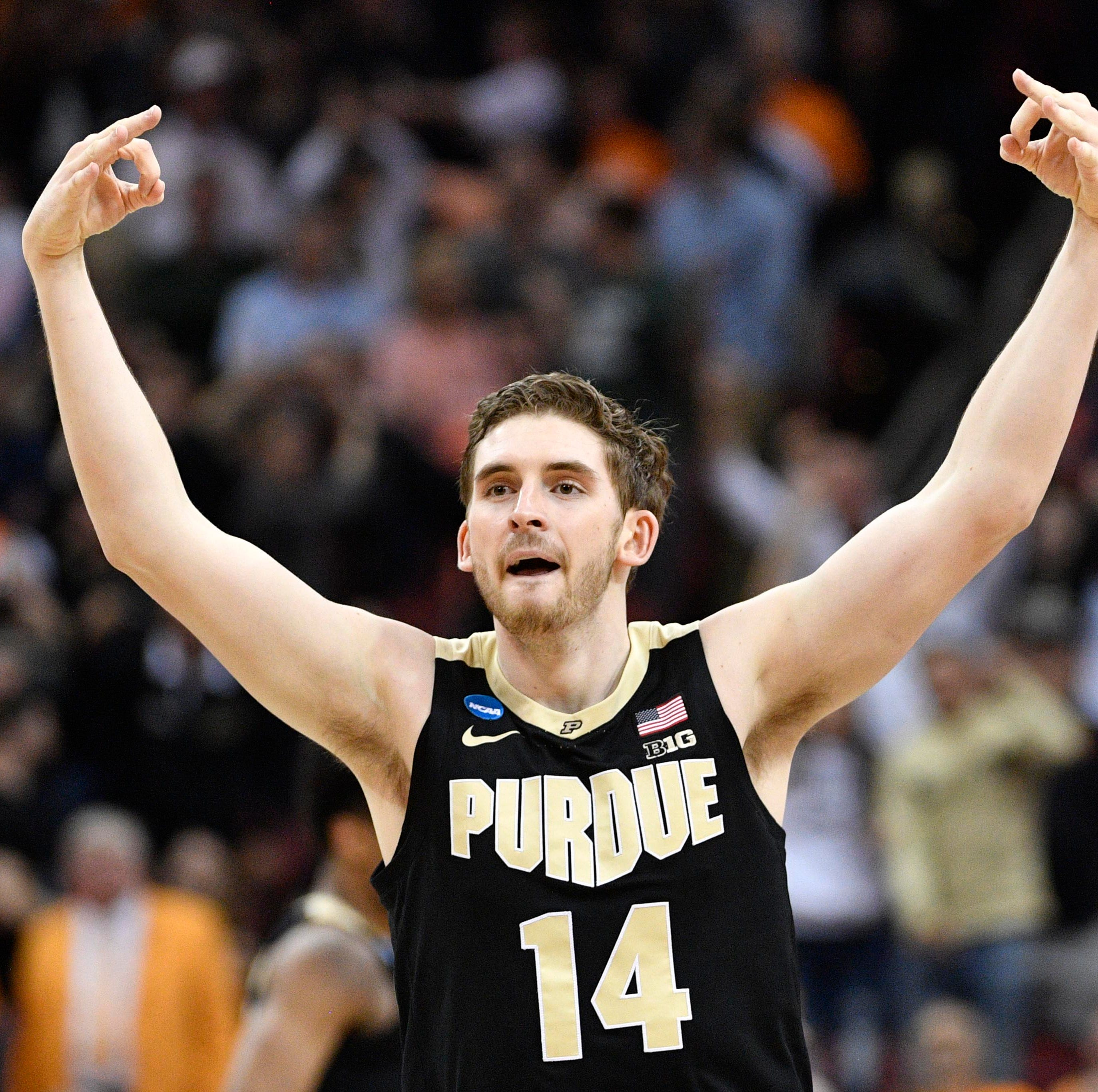 March Madness: Purdue basketball's Ryan Cline catches fire vs. Tennessee, Twitter loses it