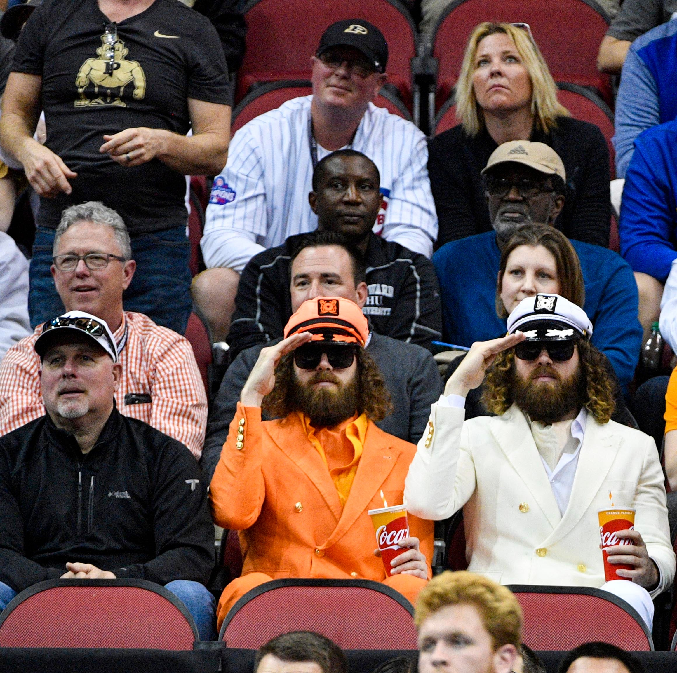 Elite Eight: See Purdue fans' relief in hilarious GIFs after close win vs Tennessee