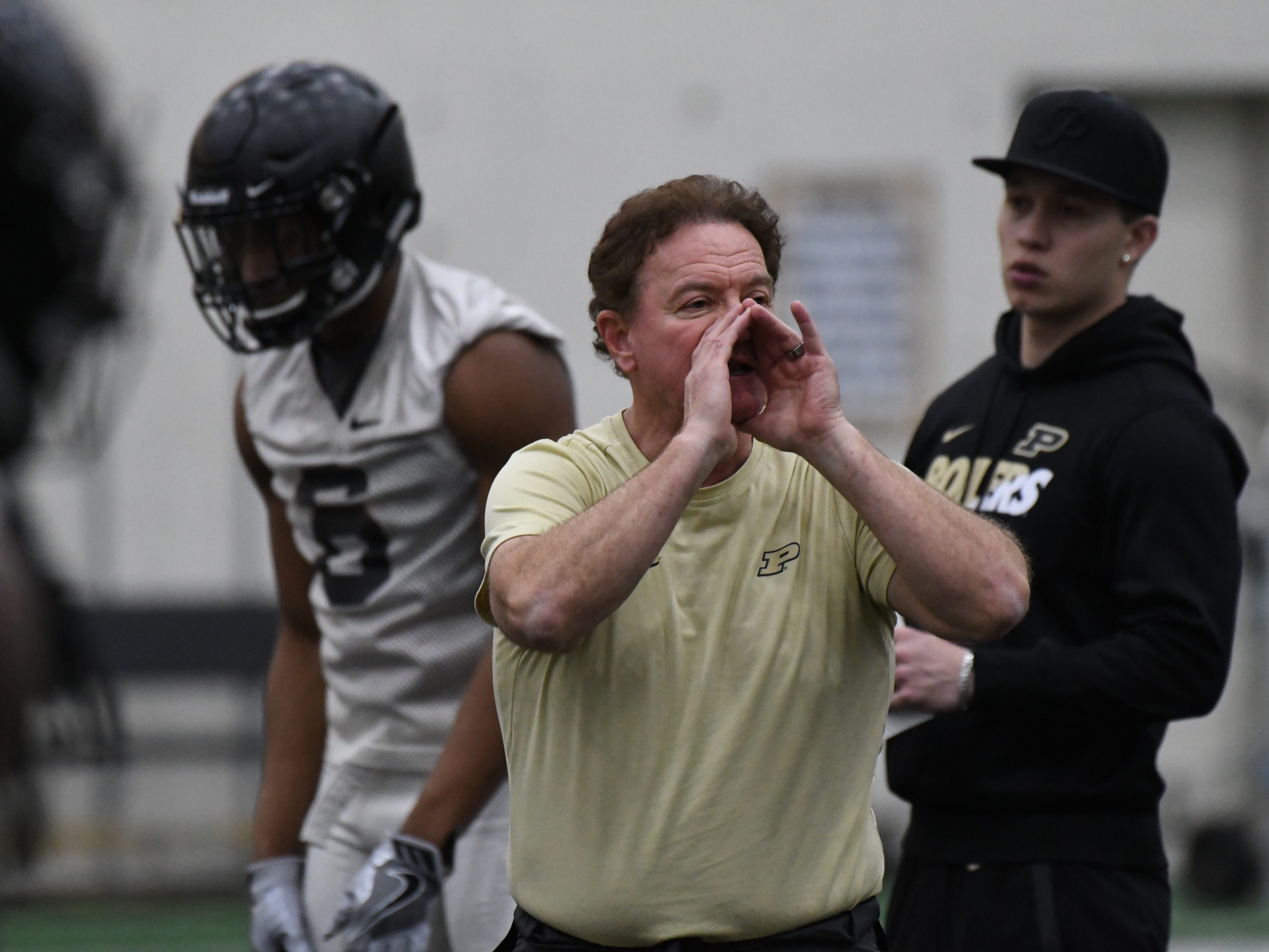 Returning to Purdue football gives cornerbacks coach Greg Brown familiarity