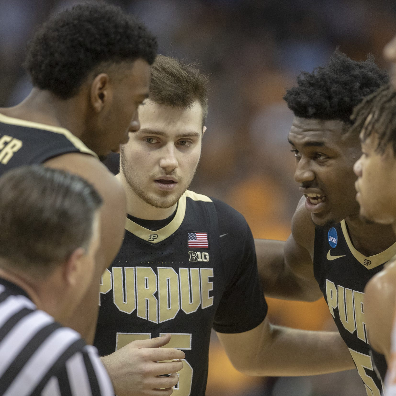 Bench helps Purdue basketball survive foul trouble, advance to Elite Eight