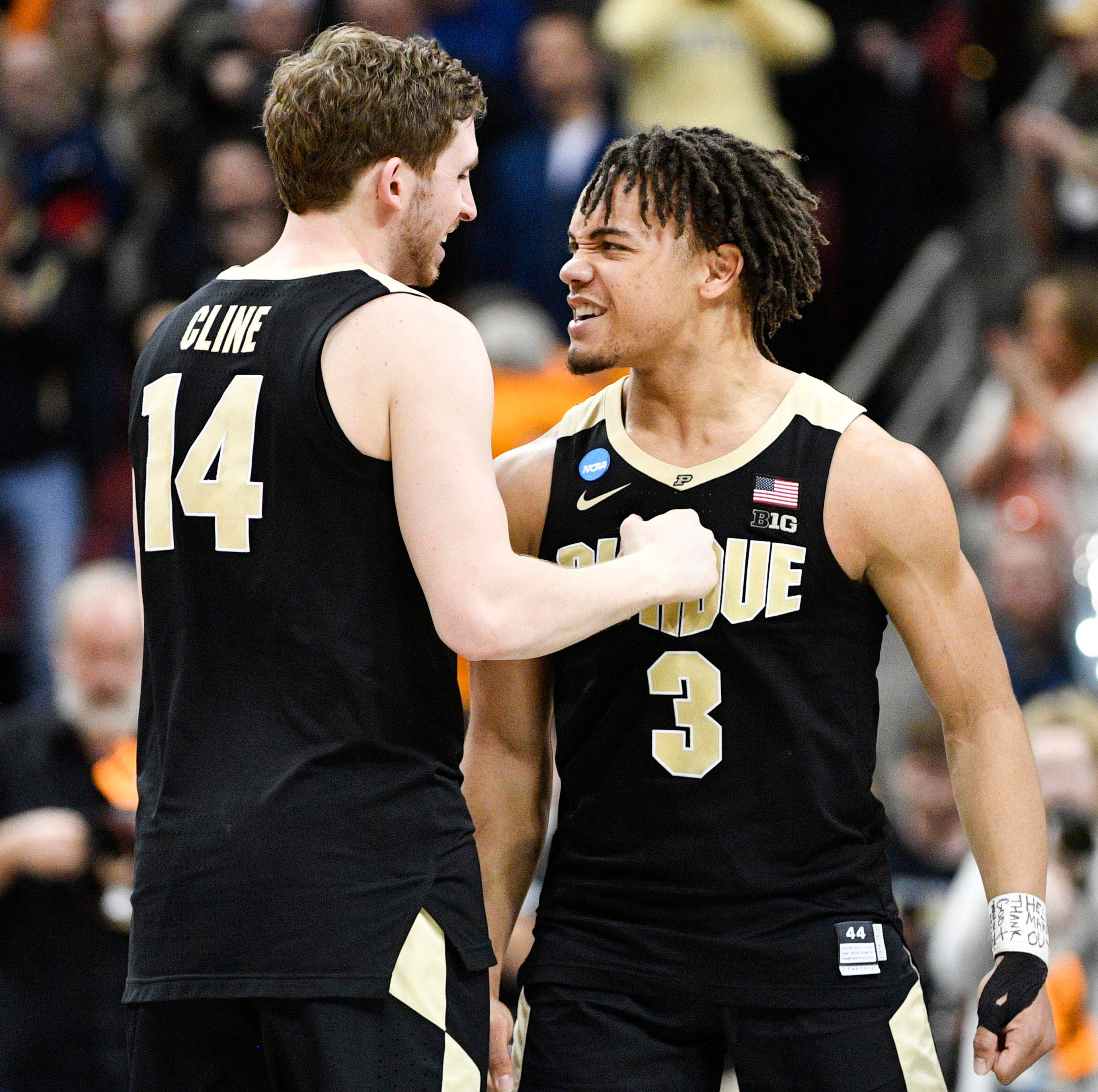 Purdue basketball holds off Tennessee in overtime for first Elite Eight berth since 2000