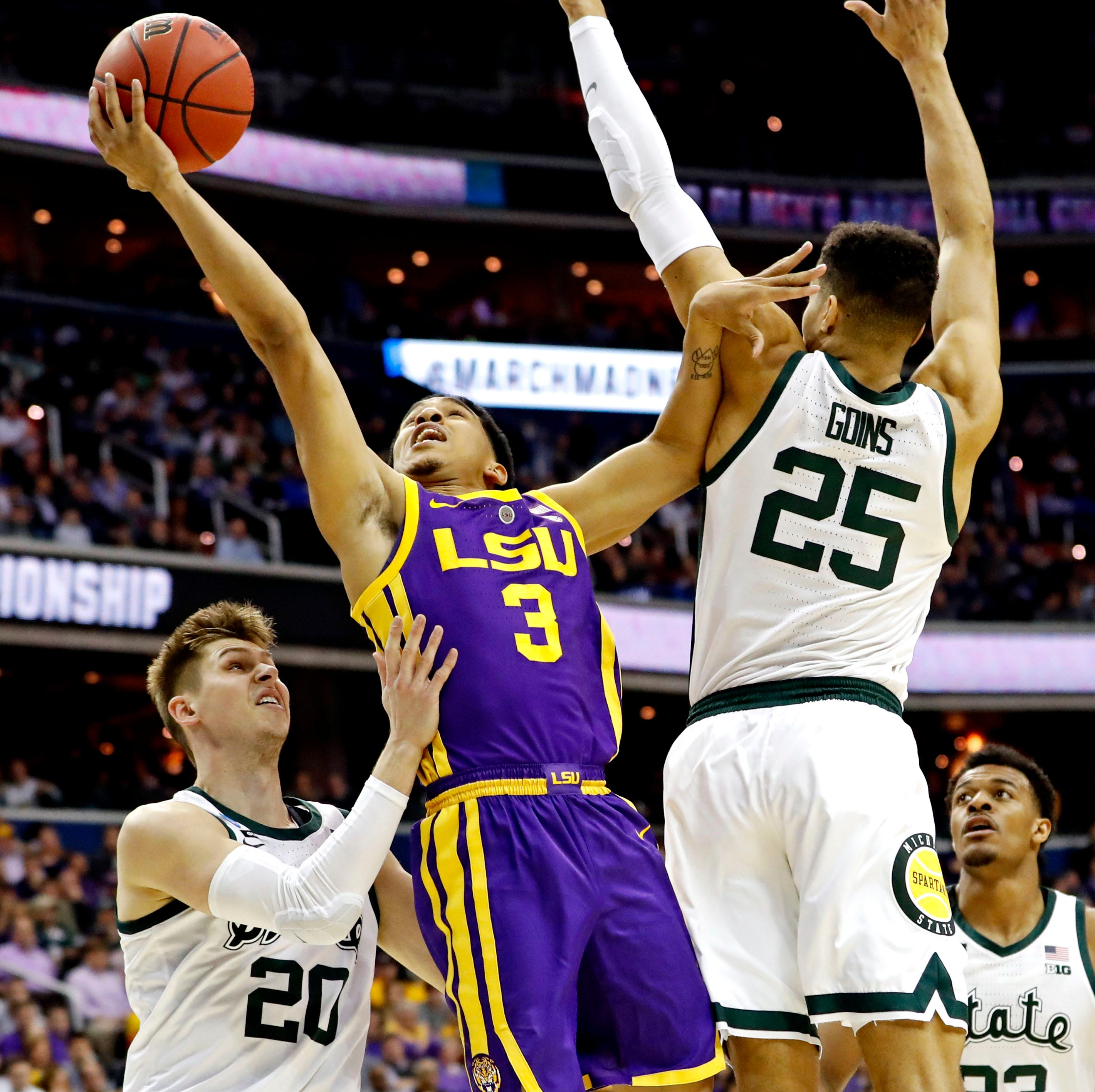 NCAA Tournament 2019: LSU vs. Michigan State basketball game highlights, score