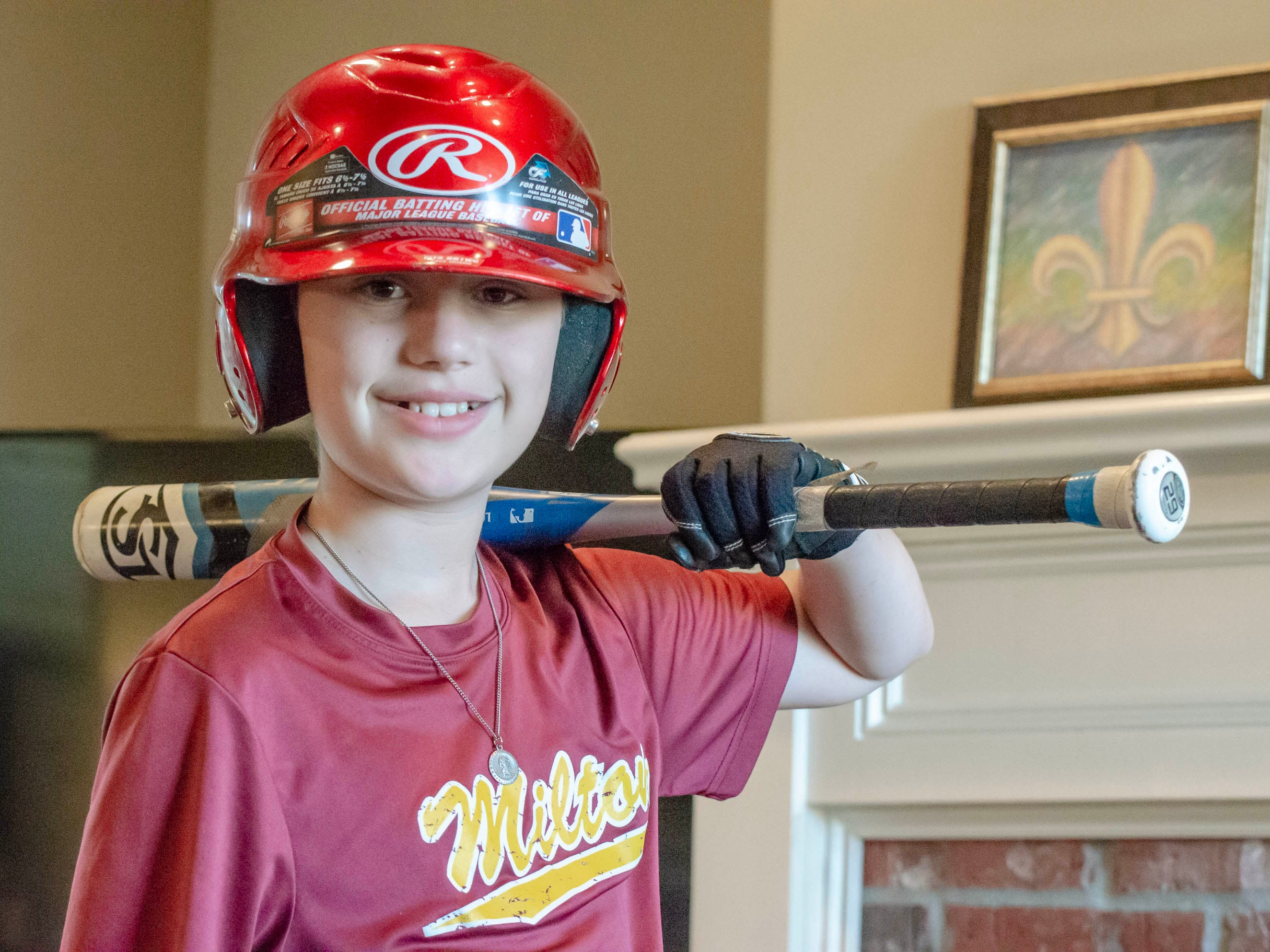 Colin McGee loves baseball, dance, video games and more. Colin, 11, had a 7-inch malignant tumor and kidney removed, went through months of chemotherapy. He rang the bell celebrating his remission in January.