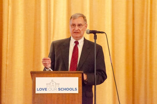 A new educational initiative called Love Our Schools will bring improvements to eight schools in Lafayette Parish. Superintendent Donald Aguillard speaks to the importance of community involvement at the announcement Thursday.