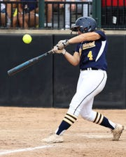 Sam Nagel was Hartland's leading hitter last season with a .484 average.