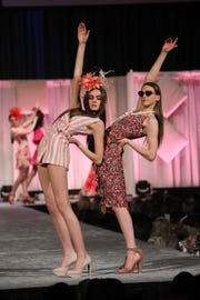 Scene during The Macy's Spring Fashion Show, a Kentucky Derby Festival event, at Horseshoe Southern Indiana. Mar. 28, 2019