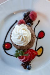 The Chocolate Mouse at Anoosh Bistro. March 28, 2019.