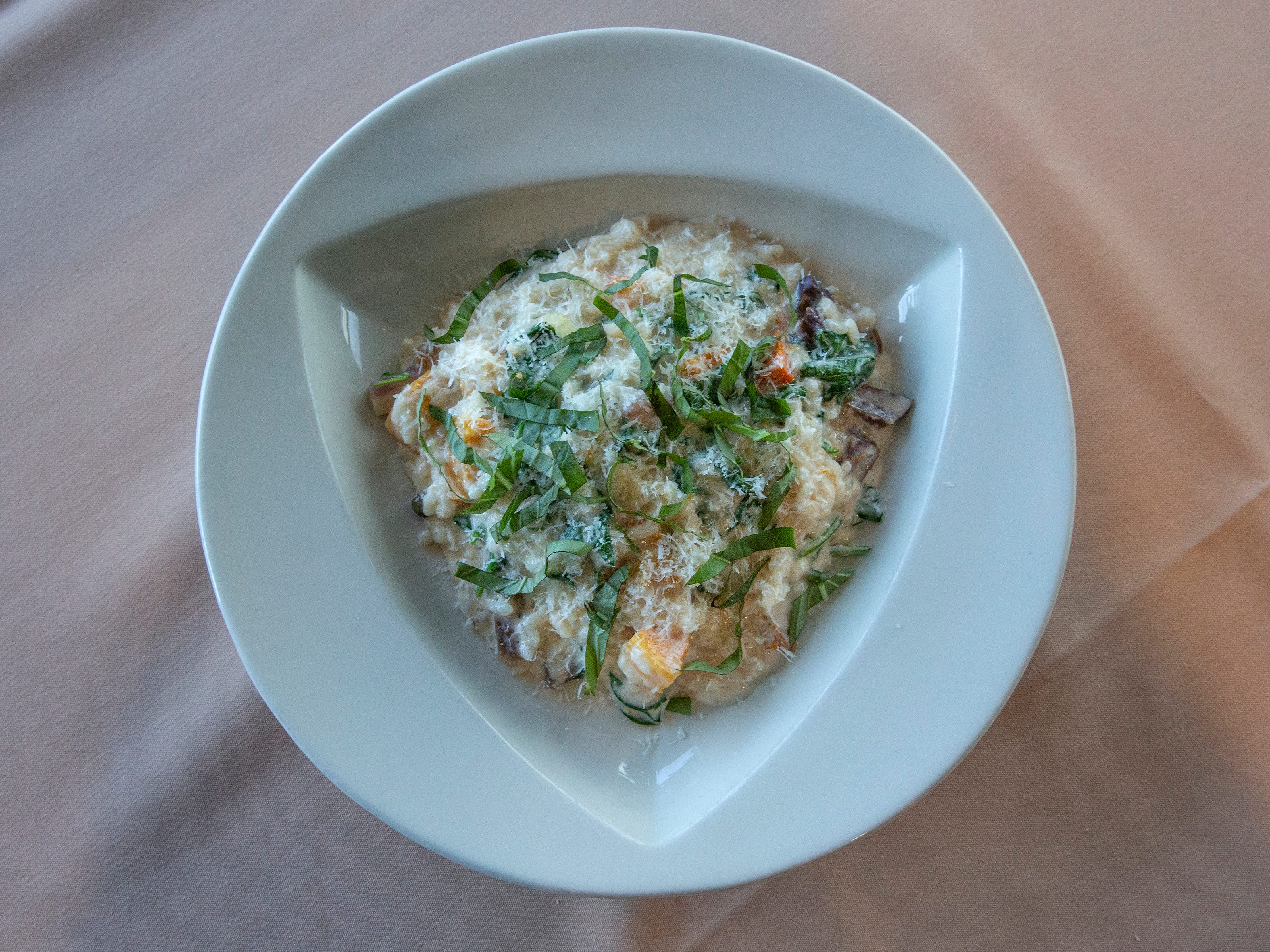 The Vegetable Risotto at Anoosh Bistro. March 28, 2019.