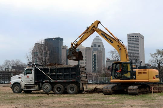 Construction work has begun on phase one of the Beecher Terrace redevelopment. The housing complex near downtown Louisville will be rebuilt with financial support from a nearly $30 million federal grant.
