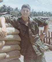 Vietnam veteran Greg Gorrell served as an artillery forward observer in Vietnam.