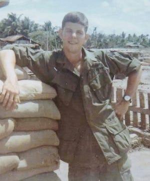 Vietnam veteran Greg Gorrellserved as an artillery forward observer in Vietnam.