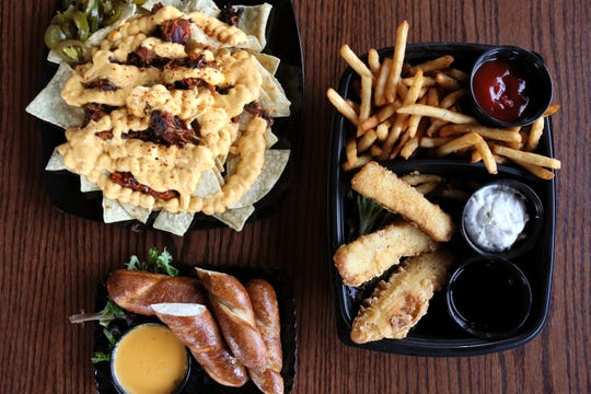 A sampling of food options from the Malco Powerhouse Cinema Grill & Bar