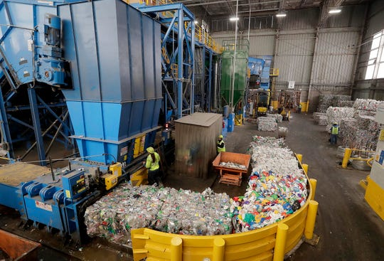 Recyclers, including the Menomonee Valley recycling sorting center jointly owned by the City of Milwaukee and 27 communities in Waukesha County, are facing rising costs and demands for a cleaner waste stream after China announced in January 2018 that it was effectively banning recycled waste from countries, including the U.S. because material was too dirty.