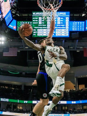 Popular sports simulator Strat-O-Matic concluded its simulation of the unplayed 2020 NBA season. Eric Bledsoe and the Bucks fell to the Los Angeles Clippers in seven gamess in hte NBA Finals.