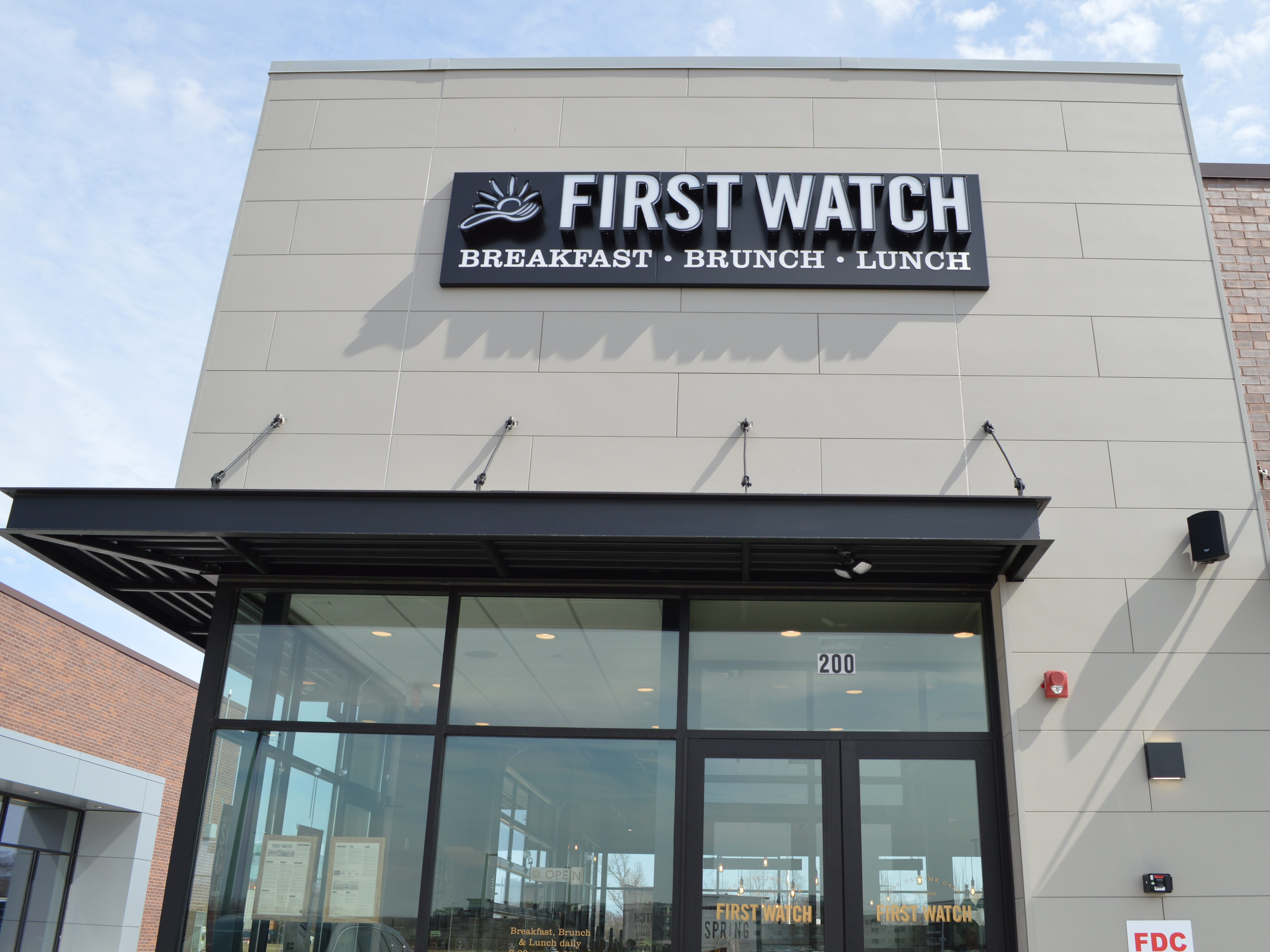 First Watch is located at 120 W. Town Square Way, Suite 200, Oak Creek.