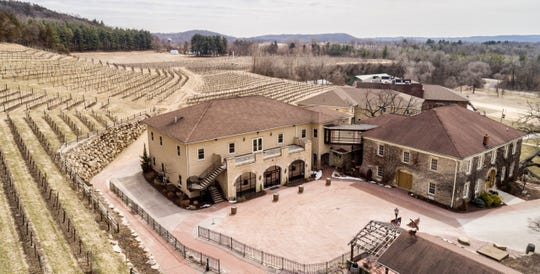 Wollersheim Winery & Distillery overlooks the Wisconsin River and resembles a European winery.