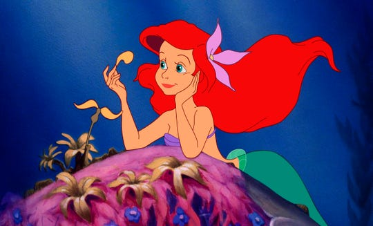 "Ariel daydreams about ""where the people are"" in ""The Little Mermaid."" The Milwaukee Symphony Orchestra will perform the score along with a showing of the 1989 movie Saturday and Sunday at the Riverside Theater."