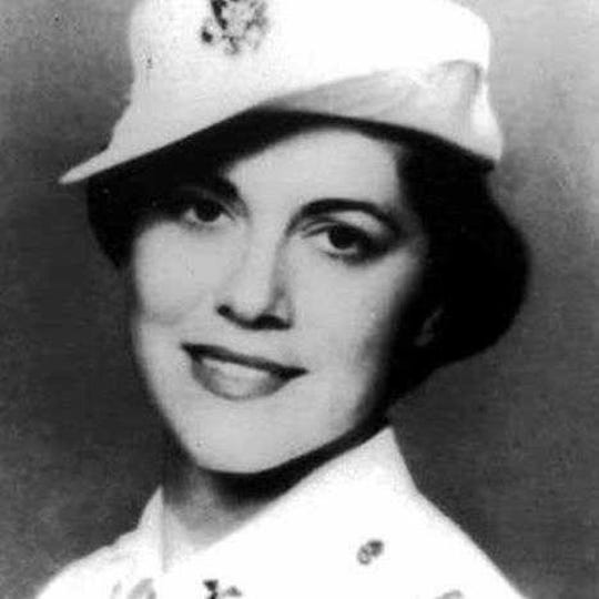Eugenie Olsen around 1955.