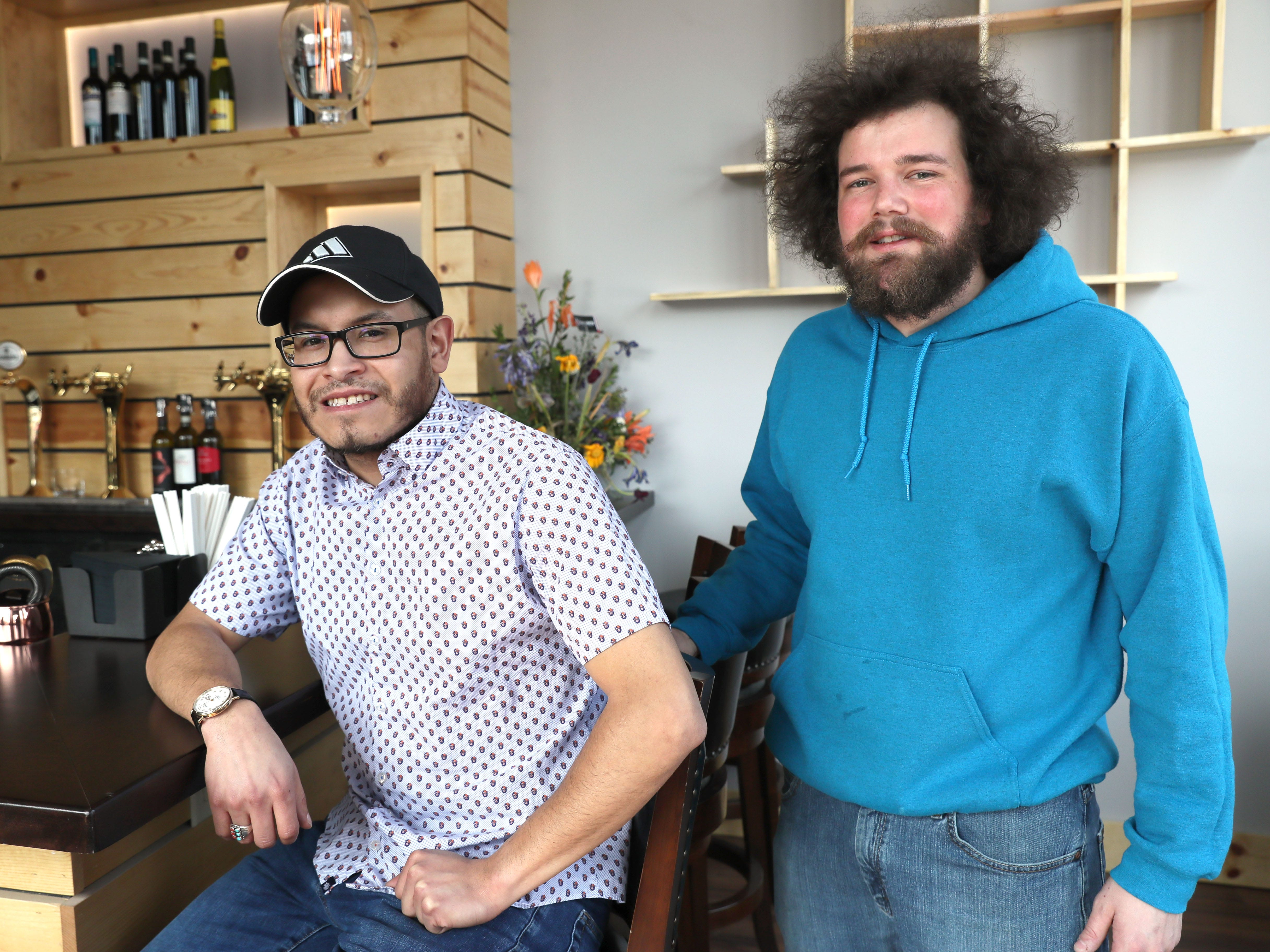 Taylor Layton (left) and Alex Sperry are ready to open Baccanera Enoteca, a new wine bar at 1732 E. North Ave in Milwaukee.