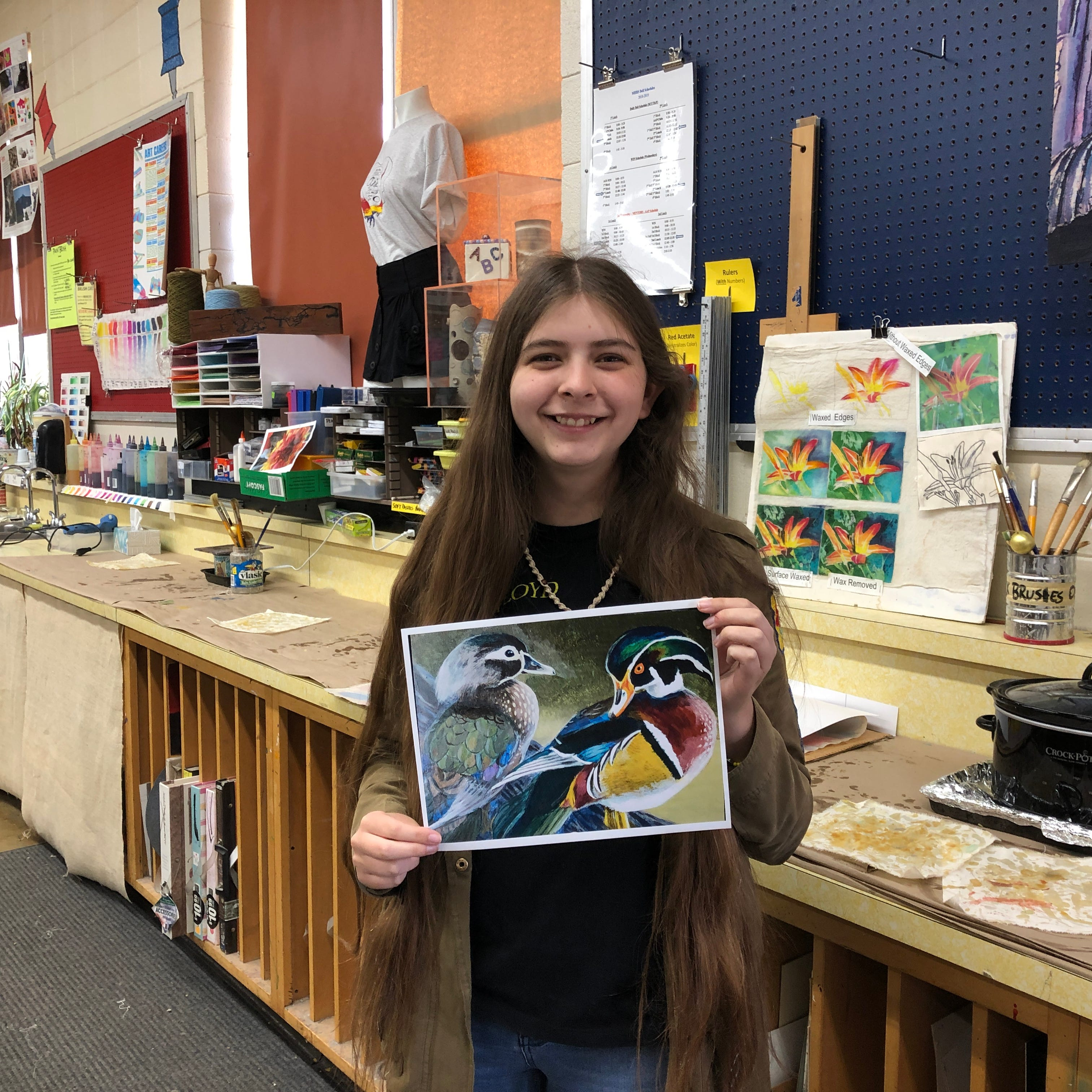 MHHS senior wins state Duck Stamp Art Contest