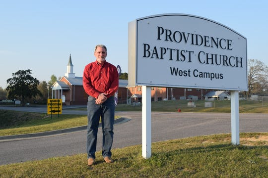 """Providence Baptist Church's Associate Pastor Chuck Adams said this storm recovery process has been an """"organized chaos,"""" but there's plenty of people wanting to help."""