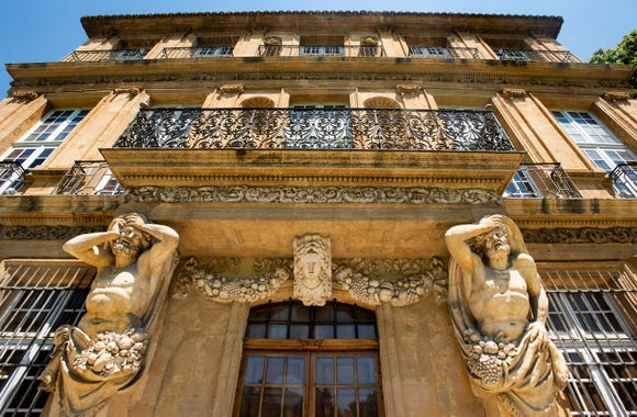 Pavillon Vendome in Aix-en-Provence.