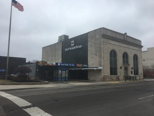 The Old National Bank branch located at 110 E. Main St. in downtown Muncie. Friday, March 29, 2019.