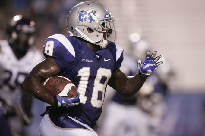 Former MTSU cornerback Kenneth Gilstrap was hired as the Blue Raiders' defensive backs coach on March 28.