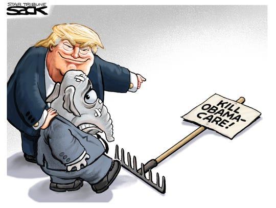 trump GOP obamacare rake
