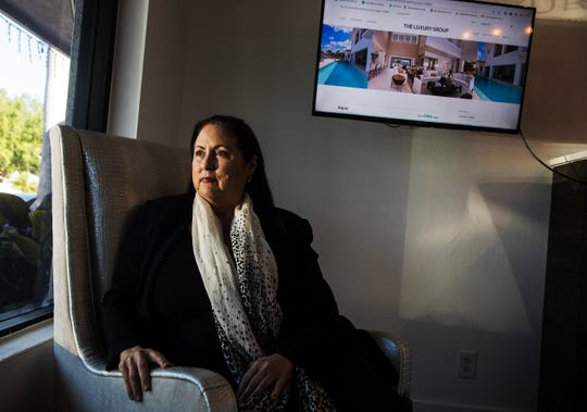 Laura Puckett, the CEO of Luxury Real Estate/Rentals based in Naples is concerned her business will be greatly impacted by the Collier County commission's decision to crack down on vacation rentals. She owns properties and represents homeowners who rent to seasonal residents and tourists who will be affected by the crack down. Photographed in her business on Friday March 29, 2019.