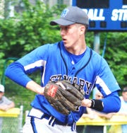 St. Mary pitcher Mark Alday.