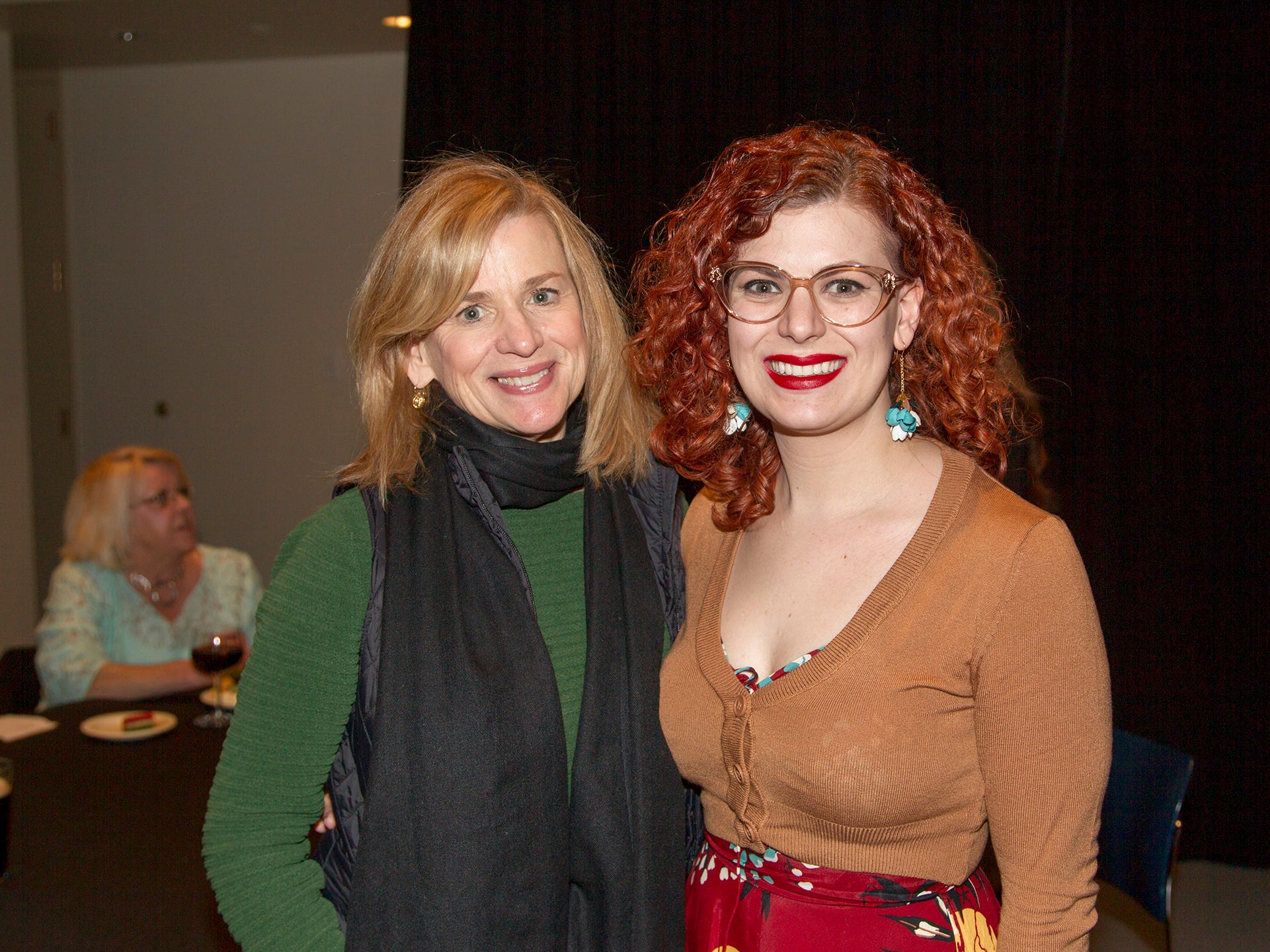 Deirdre Dimauro, Kristin Dimauro. Anthony Kearns benefit concert to benefit Julia's Butterfly Foundation at West Side Presbyterian Church in Ridgewood. 3/23/2019