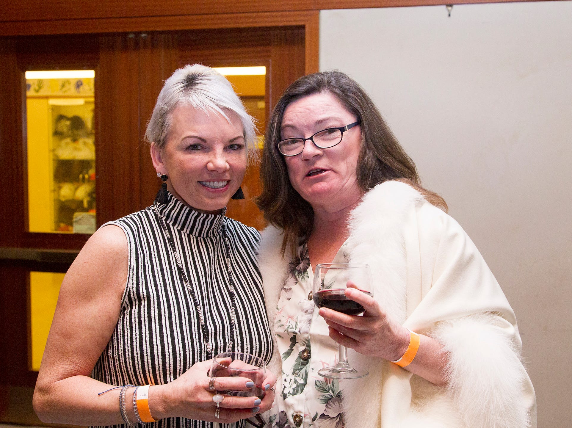 JoAnn Romano, Cynthia Orlowski. Anthony Kearns benefit concert to benefit Julia's Butterfly Foundation at West Side Presbyterian Church in Ridgewood. 3/23/2019
