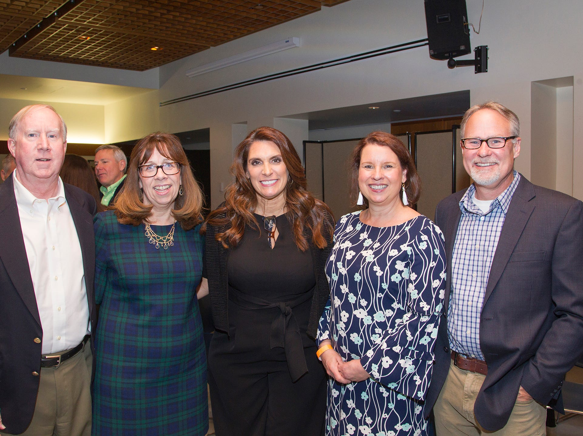 Ray and Cathy Corbet, Christine Callahan, Nancy and Dave Kennedy. Anthony Kearns benefit concert to benefit Julia's Butterfly Foundation at West Side Presbyterian Church in Ridgewood. 3/23/2019