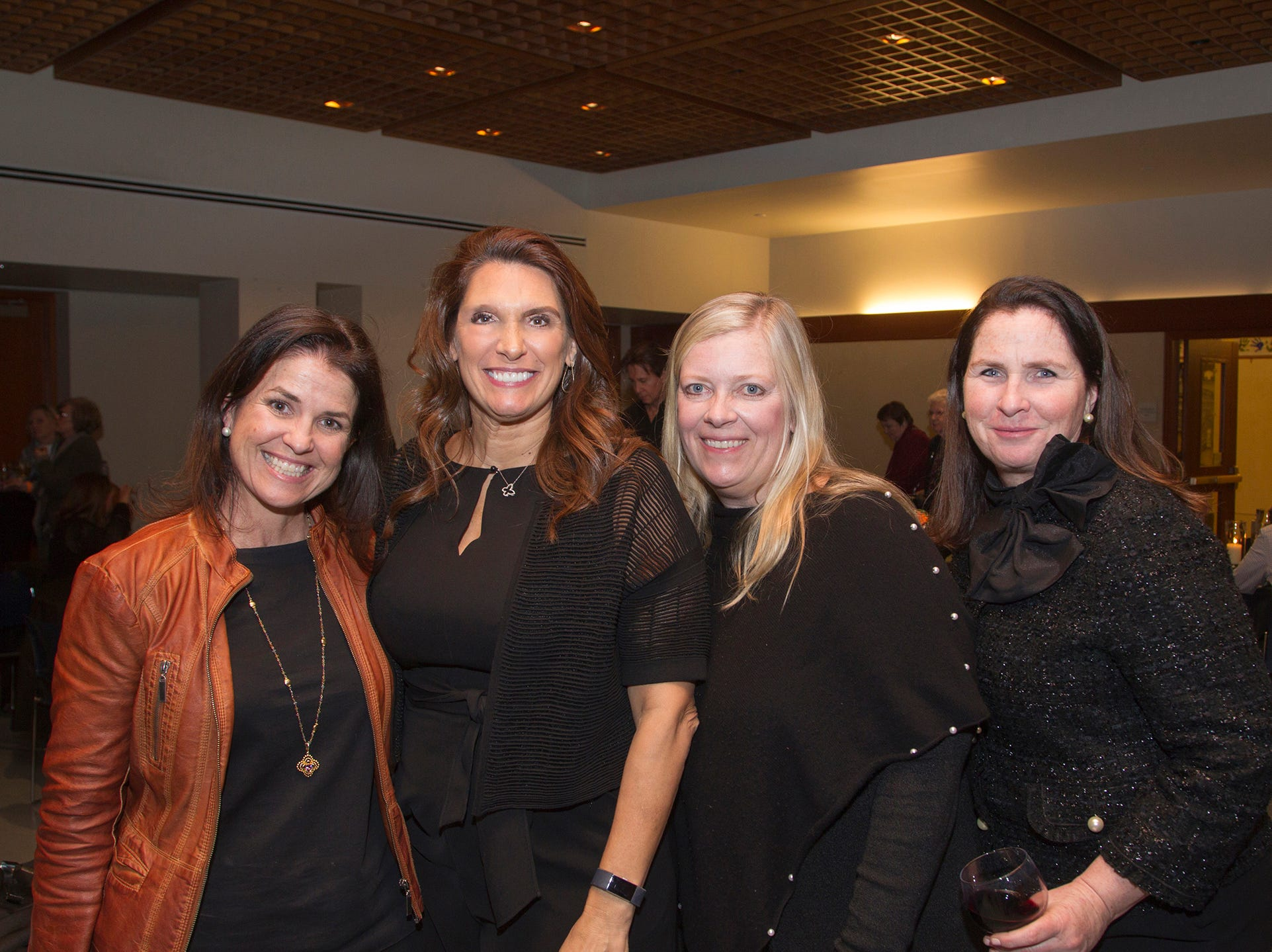 Patti Reynolds DePhillips, Christine Callahan, Elaine Young, Maureen McLoughlin. Anthony Kearns benefit concert to benefit Julia's Butterfly Foundation at West Side Presbyterian Church in Ridgewood. 3/23/2019